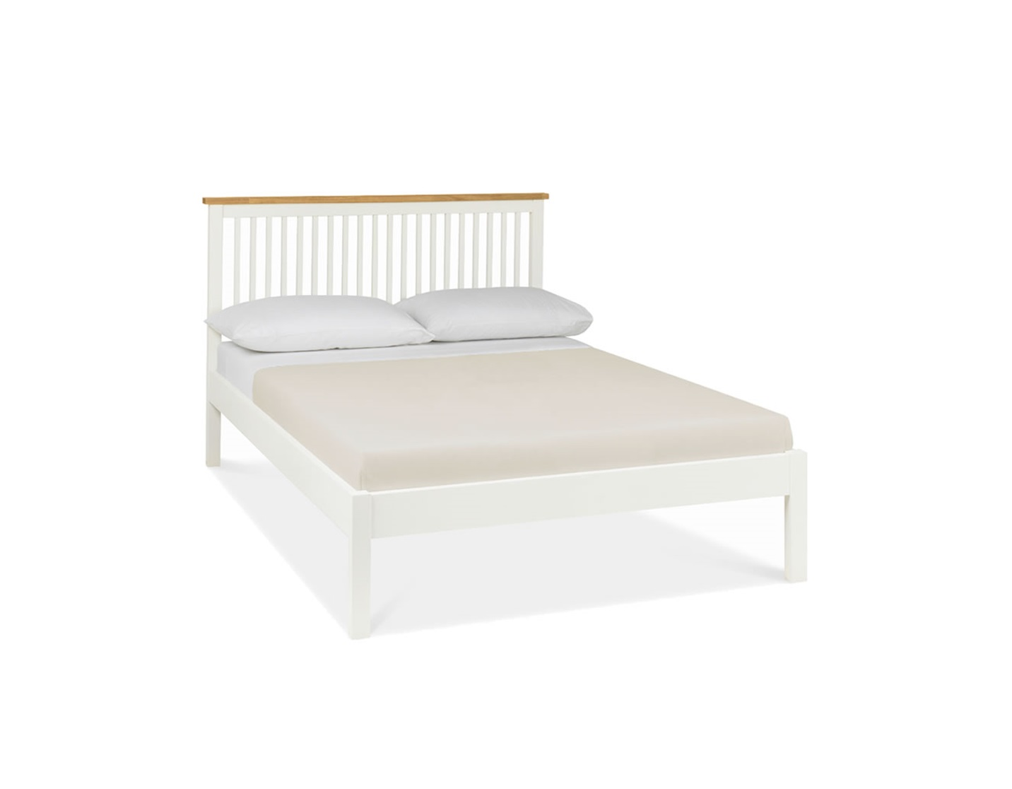 Atlanta Oak Two Tone Bed Frame